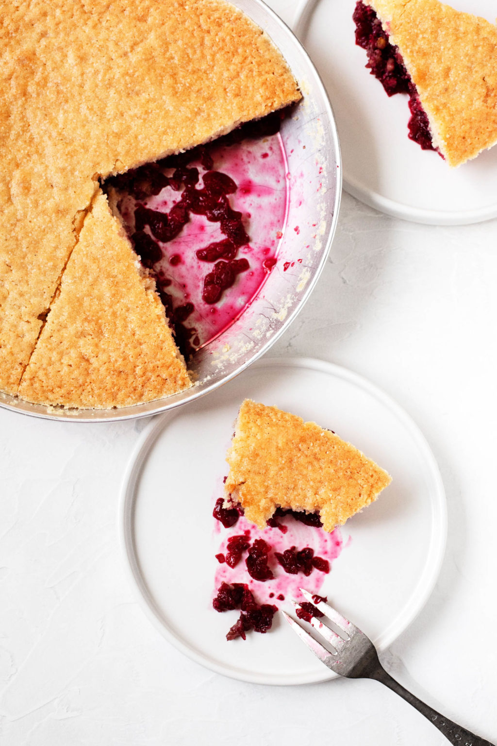 Vegan Nantucket Cranberry Pie