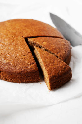 The Best Vegan Gingerbread Cake