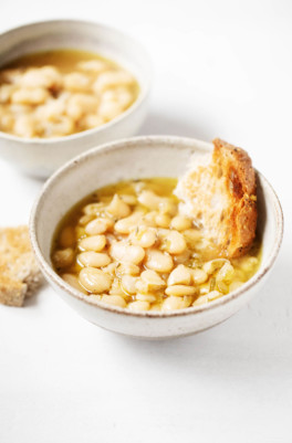 The Best Brothy White Beans